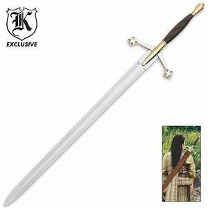Scottish Early Pattern Claymore Sword BUDK com - Knives