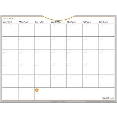 agenda bureau en gros at a glance planificateur mensuel wallmates auto