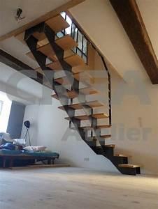 Escalier Quart Tournant Bas : les 25 meilleures id es de la cat gorie escalier quart ~ Dailycaller-alerts.com Idées de Décoration