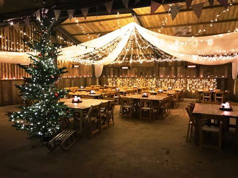 merry christmas form  barn  south milton  rustic