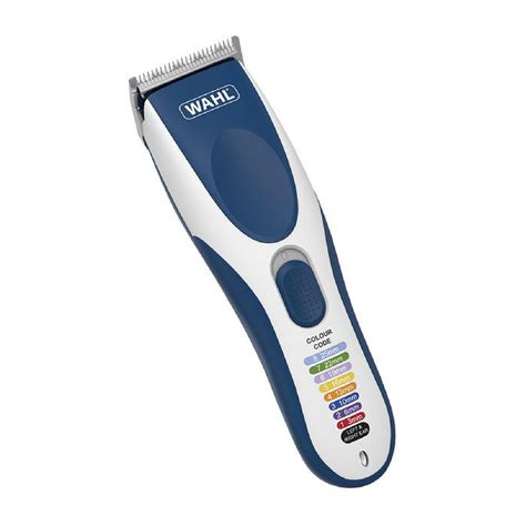 wahl colour coded cordless clipper buy mankind