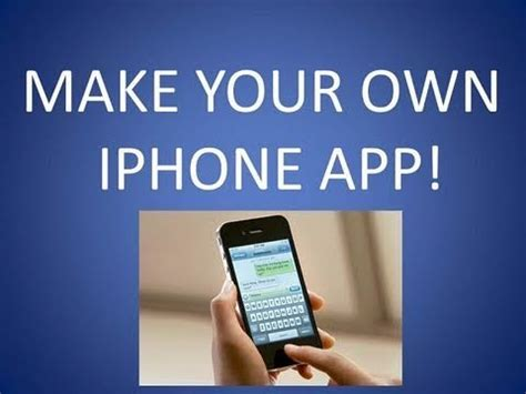 27942 how to make an app for iphone 044405 how to make iphone apps for free