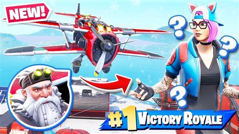 planes vehicle update  season  gameplay  fortnite