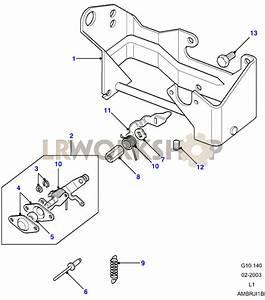 Throttle Linkage - V8 3 9  4 0l Efi