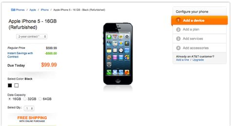 iphone refurbished at t at t now shipping refurbished iphone 5s for 99 softpedia