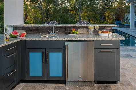 outdoor kitchen kits with sink outdoor kitchen sink cabinets stainless steel danver