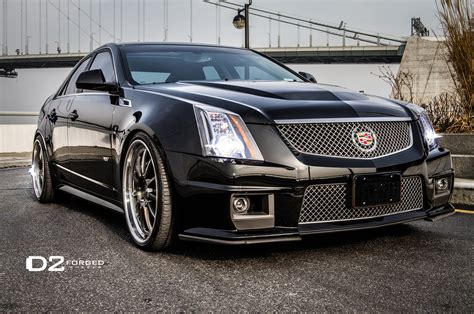 2012 Cadillac Cts-v With D2forged Wheels