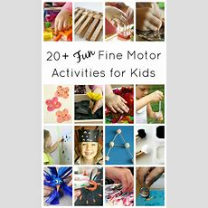 Fine Motor Activities For Kids  Fantastic Fun & Learning