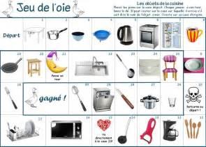 le jeu de la cuisine le vocabulaire de la maison en classe pascale