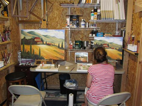 organize  art studio