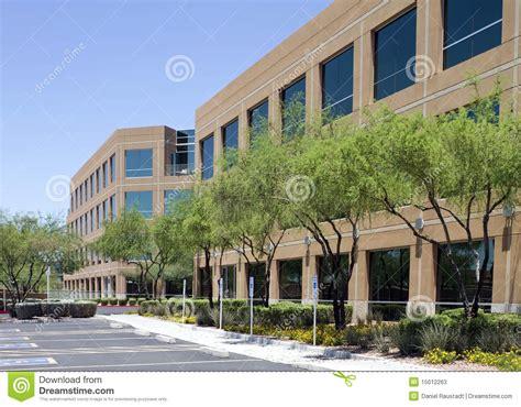 New Modern Corporate Office Building Exterior Stock Photos