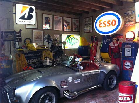 déco garage ancien