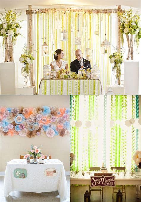 17 Best Ideas About Sweetheart Table Backdrop On Pinterest