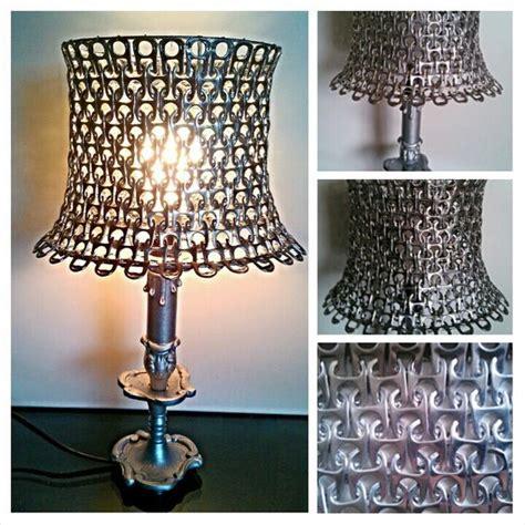 luminaire maison en capsules de canettes deco tutoriels abat jour et cotte de