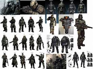 Futuristic Military Uniforms | Looking at sci-fi and near ...