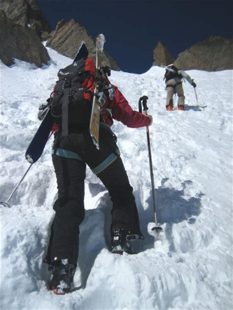 si鑒e pour le dos choisir sac à dos pour le ski de rando