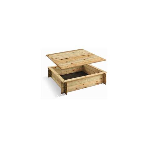 bac 224 en bois carr 233 avec couvercle plantes et jardins
