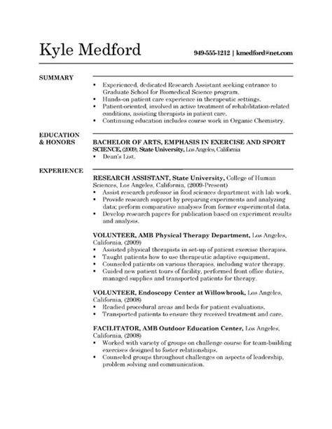 Biochemistry Resume Skills by 27 Best Images About Resume On