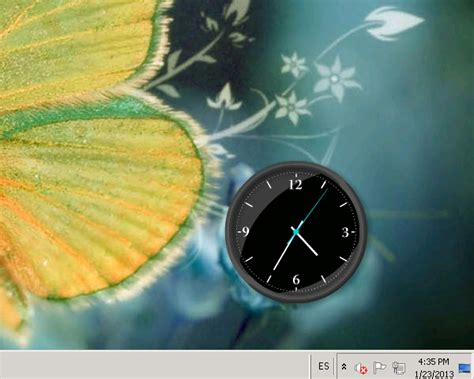 horloge sur pc bureau gratuit images desktop clock