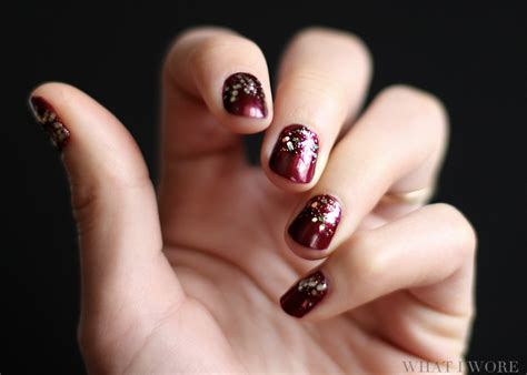 Happy New Years Nail Art On What I Wore