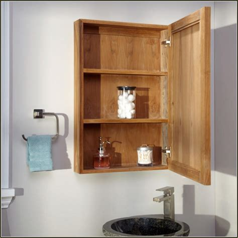 Wood Medicine Cabinets Without Mirror   Cabinet #53254