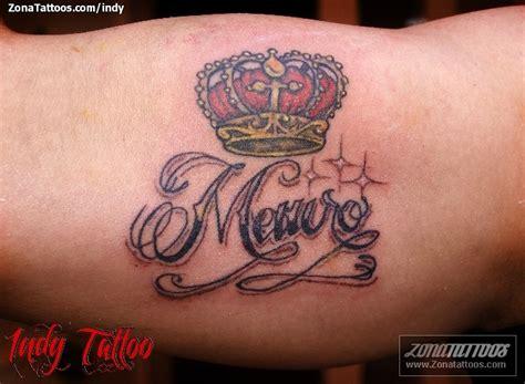 Tatuaje De Coronas, Nombres, Letras
