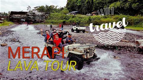 merapi lava  wisata jeep offroad jogjakarta youtube