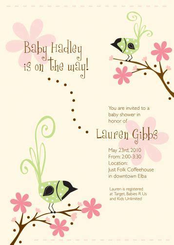 happy birds baby shower invitation wiregrass weddings