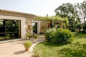 ventes maison neuve en pierres en drome provencale With exceptional modele de maison en l 4 photo terrasse maison provencale