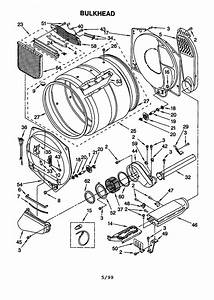 Kenmore 90 Series Model 110 60912990 Parts Diagram
