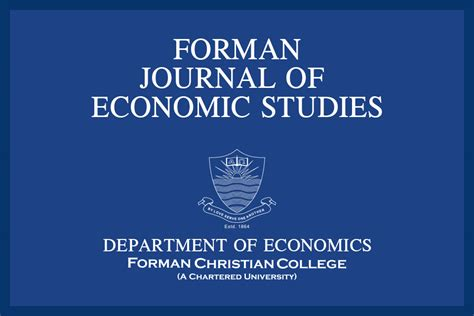 bureau of economics forman journal of economic studies forman christian