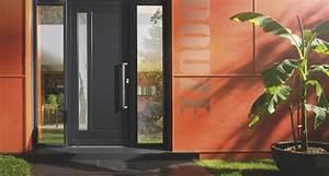 Coloris de vos portes d39entree aluminium bois pvc et acier for Porte d entrée pvc en utilisant porte entree pvc couleur bois