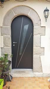 Porte Entrée Aluminium Rénovation : portes d 39 entr e pose vente neuf r novation rennes ~ Premium-room.com Idées de Décoration