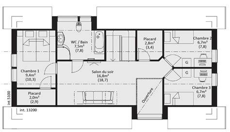 maison plain pied 5 chambres plan de maison en bois gratuit plain pied segu maison