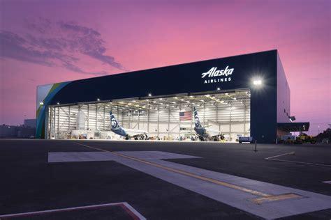 alaska airlines hangar anchorage alaska metal