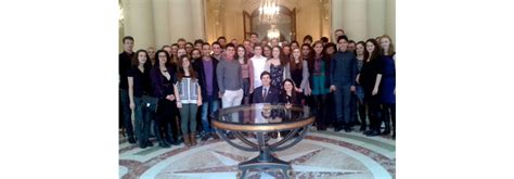 Walter Payton Students Meet With US Ambassador to the ...