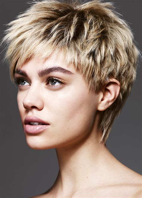 short textured haircuts hairstyle  women man