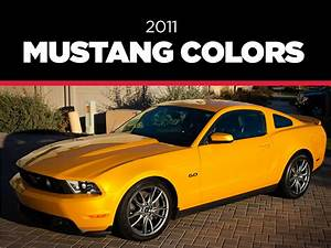 Ford Mustang Yellow Colour - Ford Mustang 2019