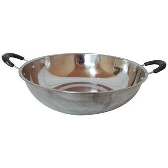 davi wajan cekung stainless steel jumbo 36 cm home dan living wok stuffed peppers