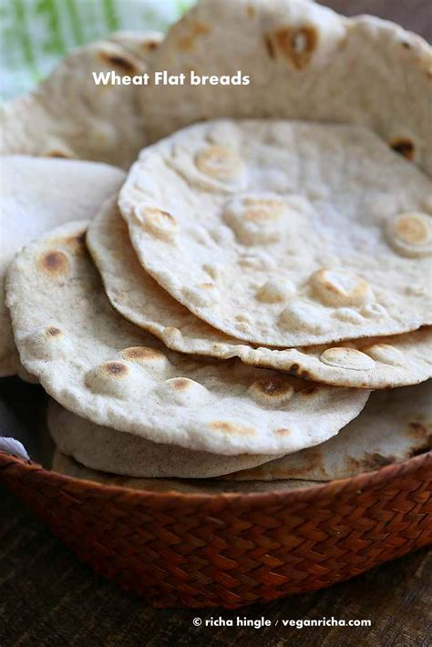 vegan yeast  flatbread  pita bread vegan richa