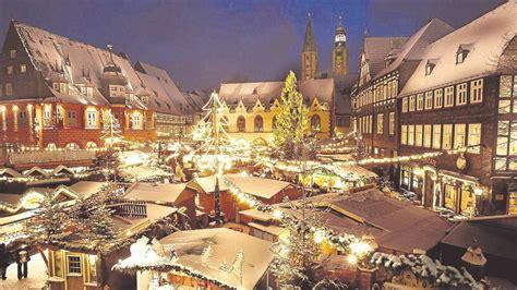 goslar hat den schoensten weihnachtsmarkt  deutschland