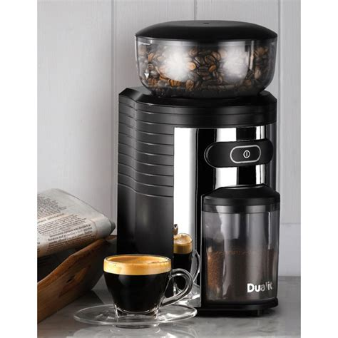 No need to look further. Dualit Burr Grinder for Coffee Beans
