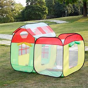 Pop Up Spielzelt : 2 in 1 kinder kleinkind pop up spielzelt bunte spielhaus set with marine balls ~ Whattoseeinmadrid.com Haus und Dekorationen