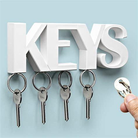 keys key holder white  qualy furniture home decor