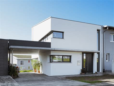 Moderne Häuser Am Hang by Frontansicht Mit Carport Modern H 228 User Berlin