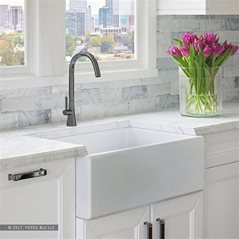 Big White Kitchen Sink by Luxury Fireclay Modern White Farmhouse Kitchen Sink 30 Quot