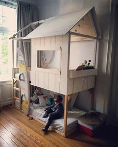Ikea Bett Kinderzimmer : kinderzimmer pimpen 10 diy hacks f r ihr ikea kura bett basteln pinterest room ikea ~ Frokenaadalensverden.com Haus und Dekorationen