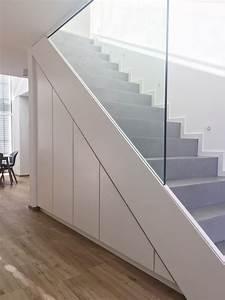 Putz Für Keller : betontreppe mit einbauschr nken keller bauen betonoptik ~ Lizthompson.info Haus und Dekorationen