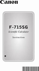 Download Canon Calculator F