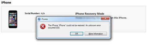 iphone error code how to fix error 53 problems on iphone 6